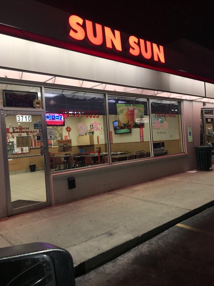 Food from Sun Sun Chinese Restaurant