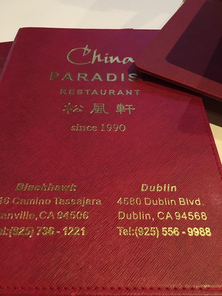 China Paradise Restaurant Dublin Ca