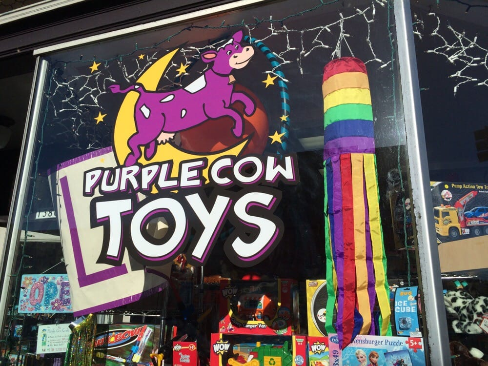 Purple Cow Toys: 1380 Commercial St, Astoria, OR