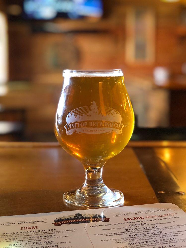 Pinetop Brewing Company: 159 W White Mountain Blvd, Pinetop, AZ