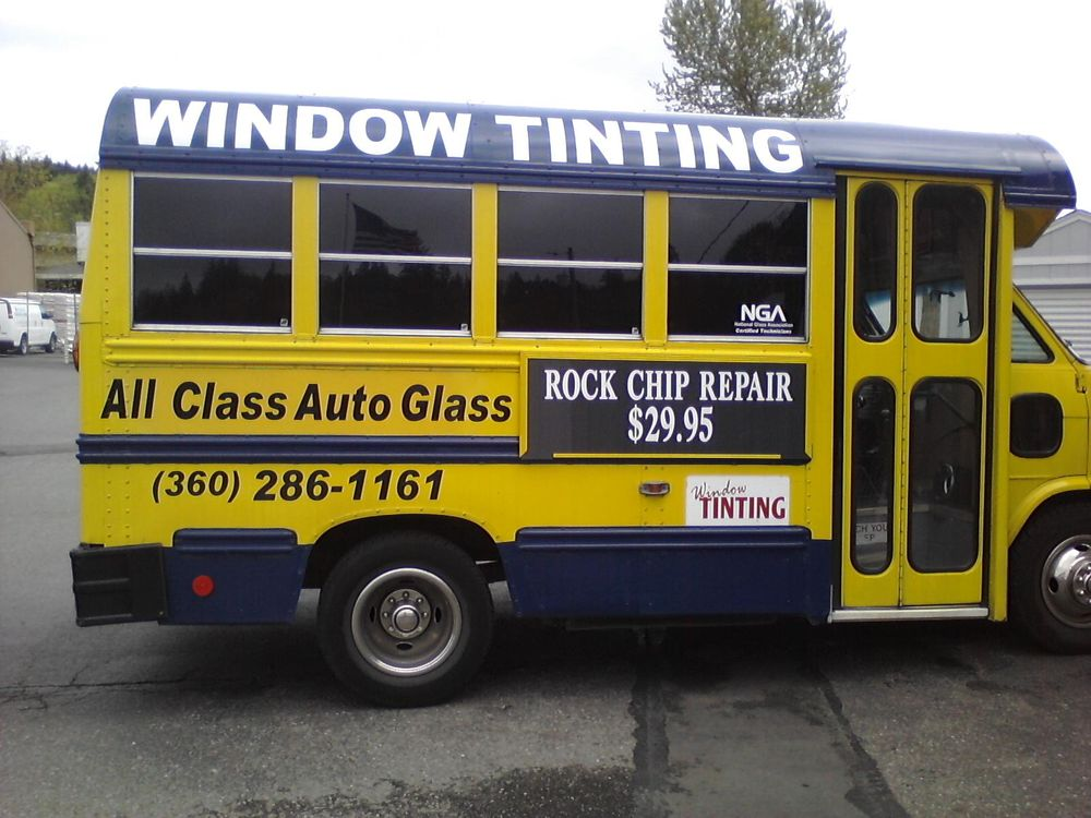 All Class Auto Glass and Window Tinting - 4080 W Hwy 16
