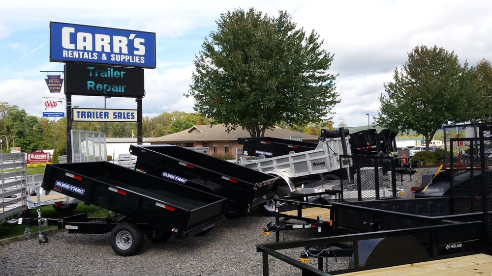 Carr's Trailers and Supplies: 1739 John Brady Dr, Muncy, PA