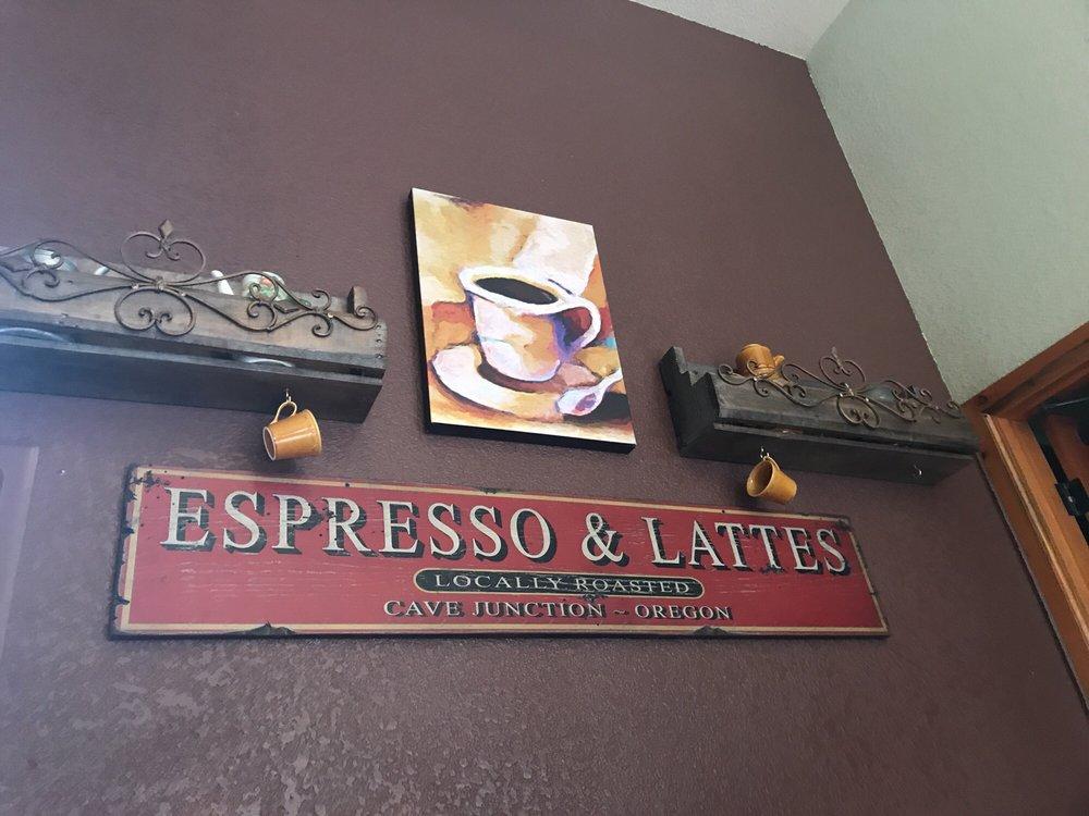 CJ Coffee: 25870 Redwood Hwy, Cave Junction, OR