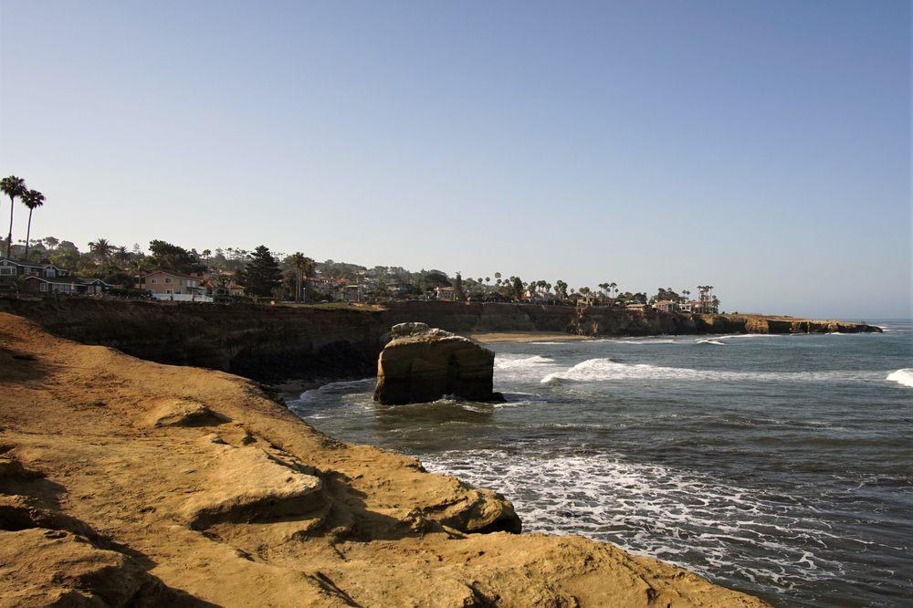 Bird Shit Rock: 1200 Block Of Sunset Cliffs Blvd, San Diego, CA