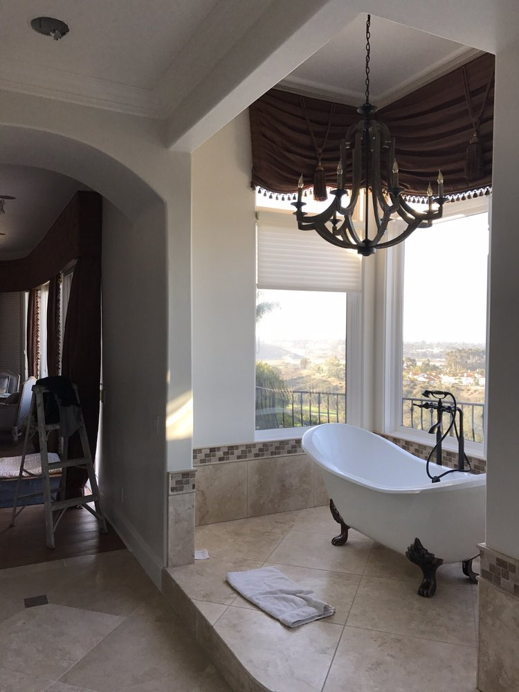 Photo Of Gomez Signature Painting   Oceanside, CA, United States. Master  Bathroom Painted