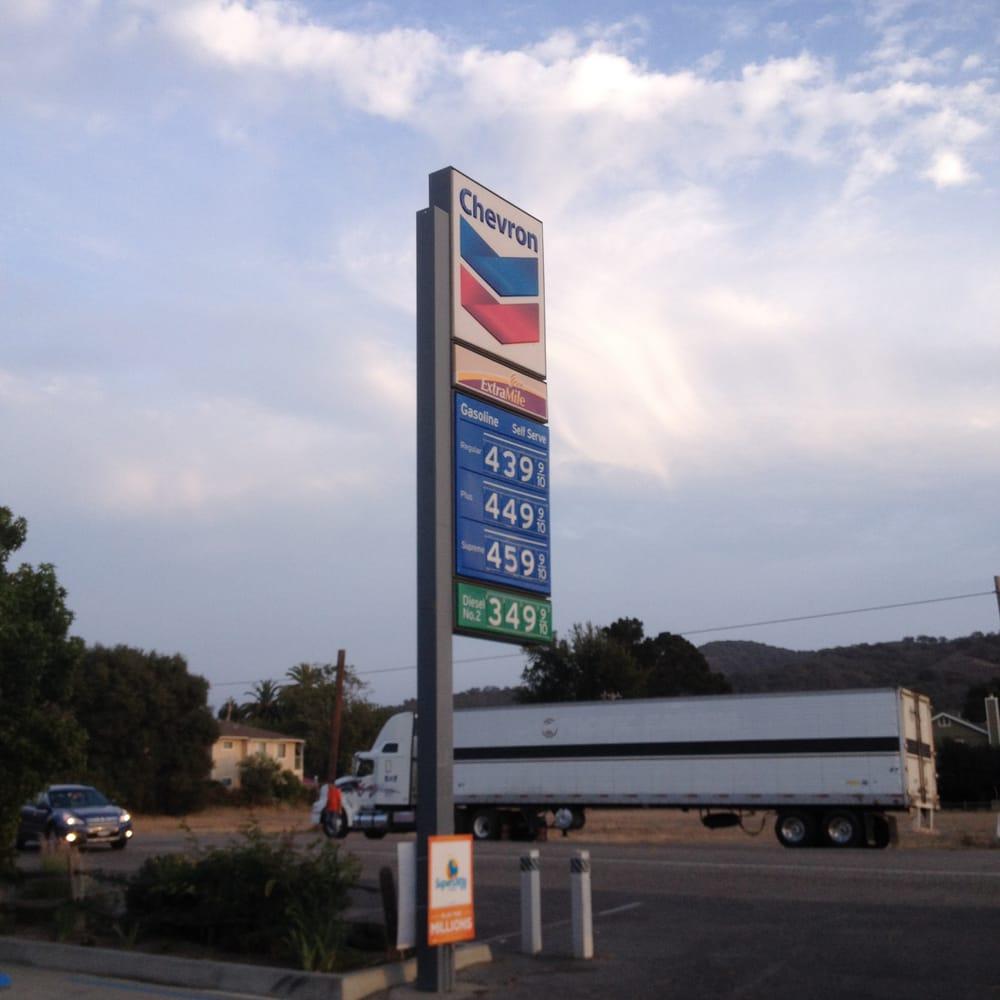 Chevron: 605 Bell St, Los Alamos, CA