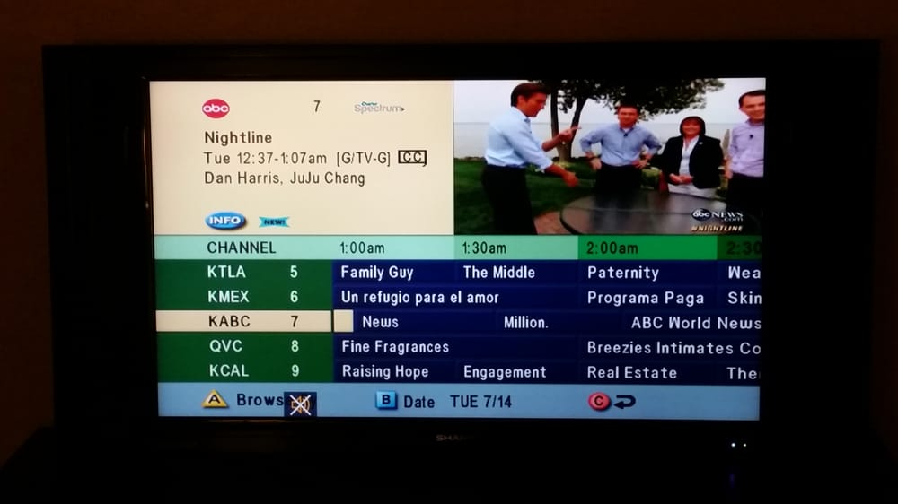 this is the current live tv guide as of 7 14 15 so ugly clunky and rh yelp com charter tv guide/56479 charter tv guide schedule