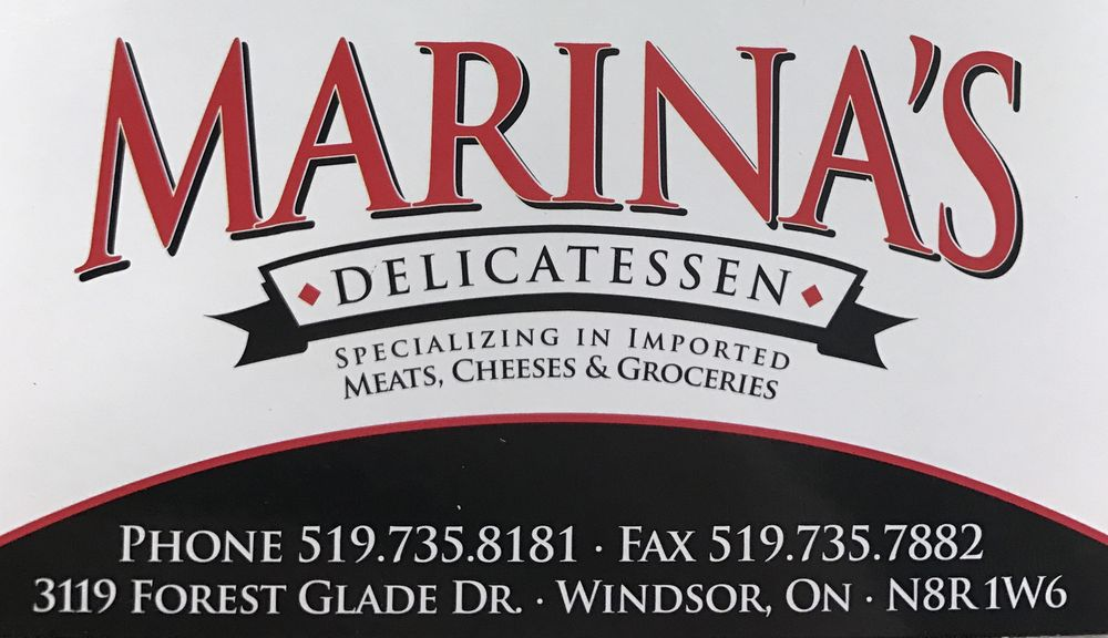Marina's Deli: 3119 Forest Glade Drive, Windsor, ON