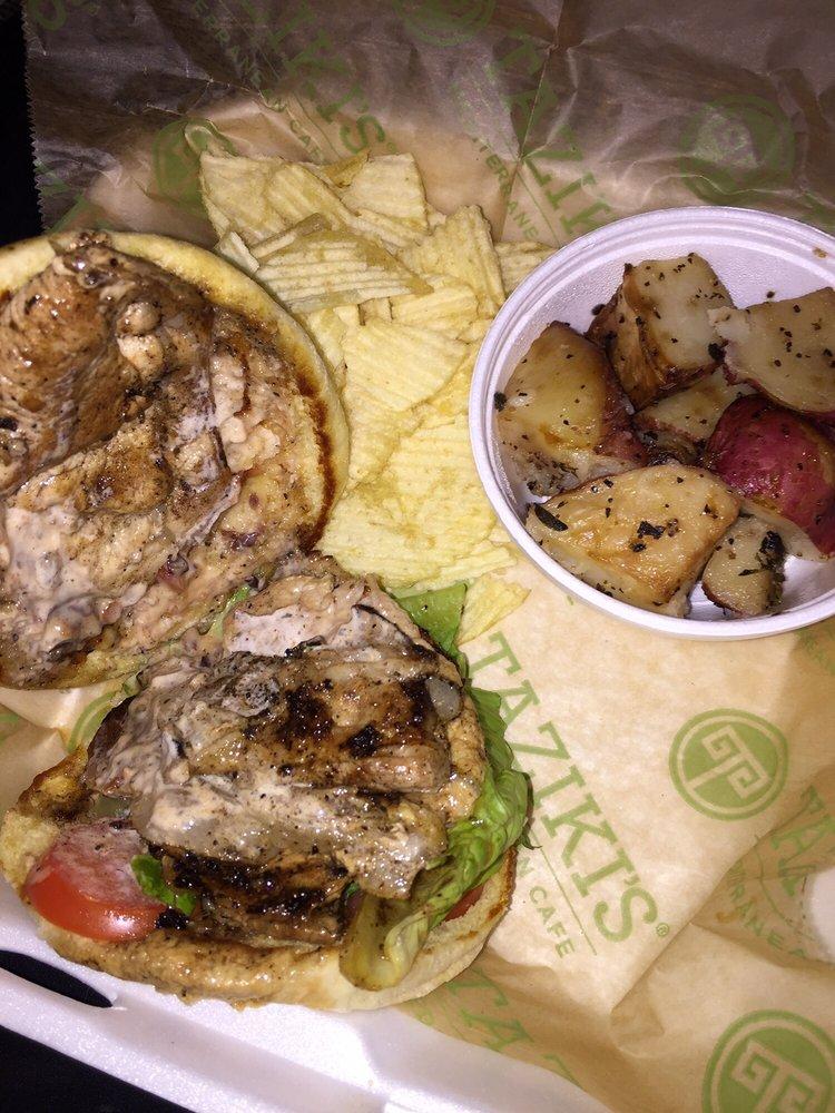 Taziki's Mediterranean Cafe: 10800 Bass Pro Pkwy, Little Rock, AR