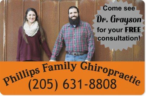 Phillips Family Chiropractic: 600 Main St, Gardendale, AL