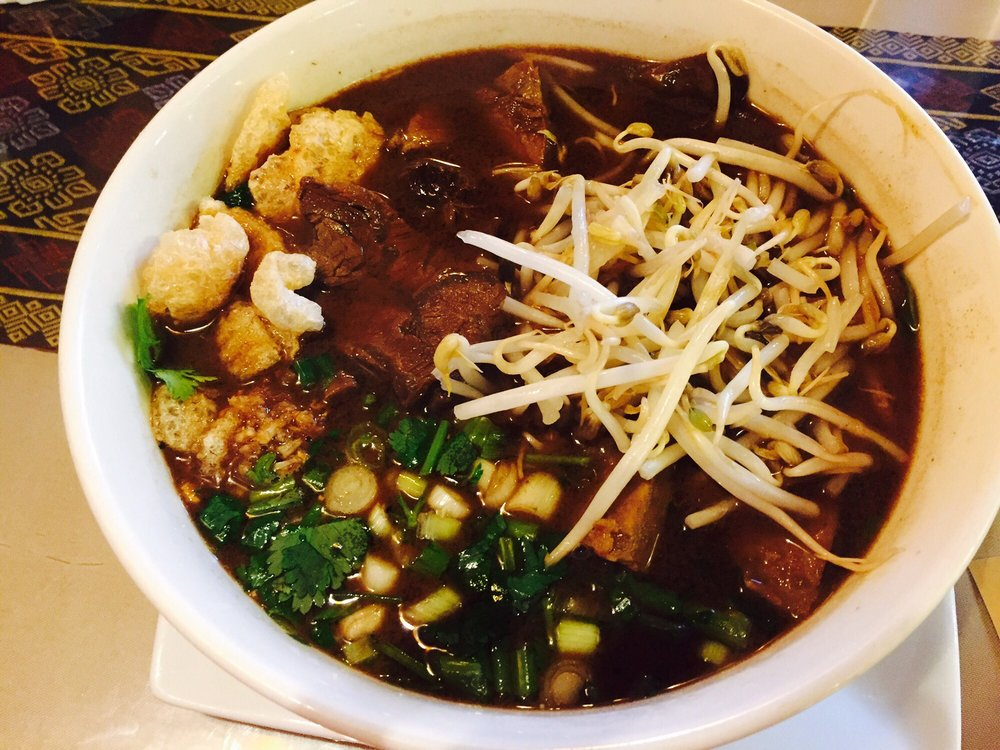 Boat house noodles yelp for Ano thai lao cuisine