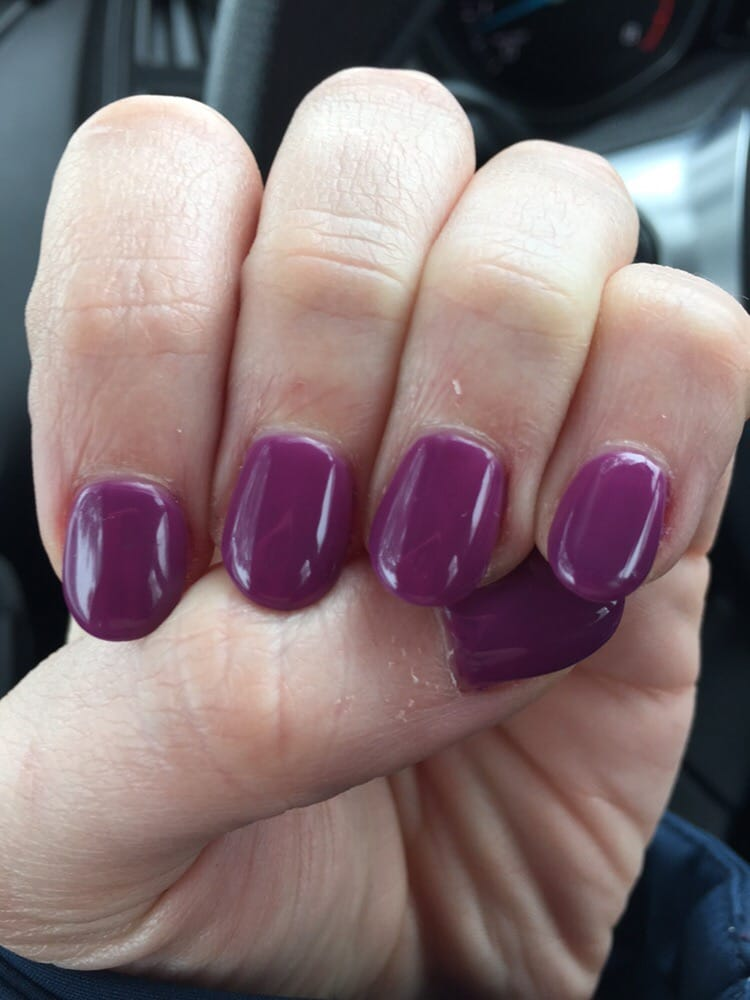 new nails by tina  love this color