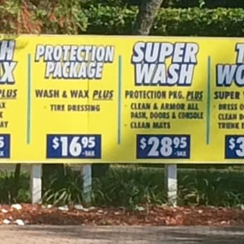 Clearwater Car Wash Prices