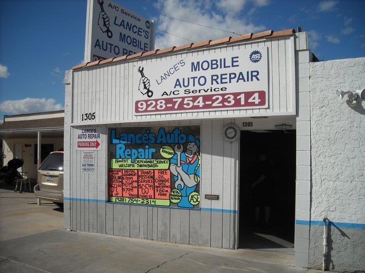 Lances Auto Repair: 1305 Baseline Rd, Bullhead, AZ