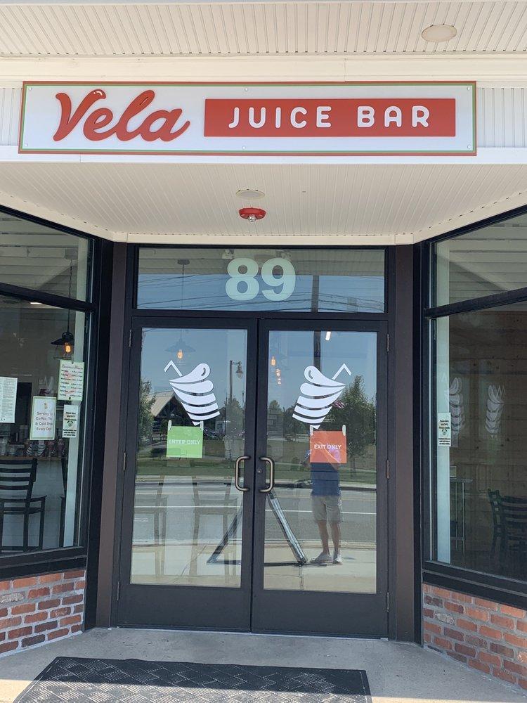Vela Juice Bar: 89 Main St, Buzzards Bay, MA