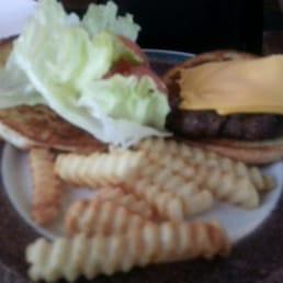Photo Of Valentineu0027s Restaurant   Freeburg, IL, United States. Cheese  Burger U0026 Fries