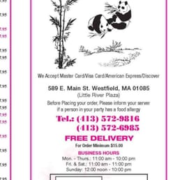 Food Delivery In Westfield Ma