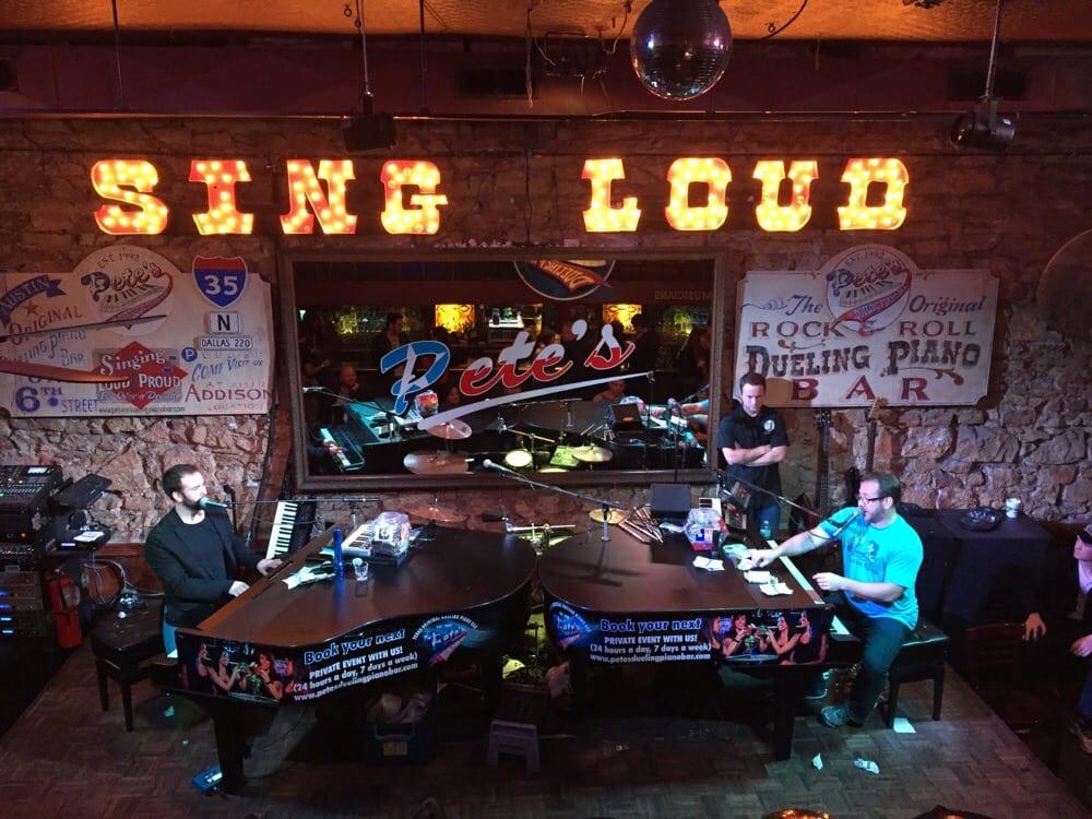 Piano Bar Restaurants Houston Tx