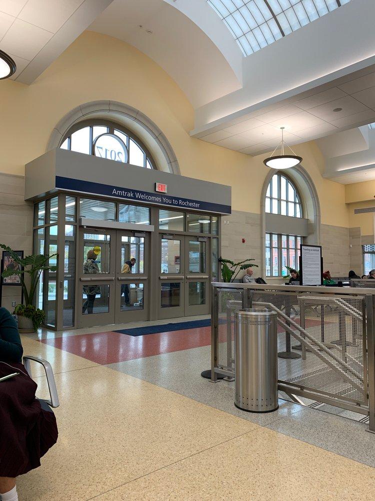 Amtrak: 320 Central Ave, Rochester, NY