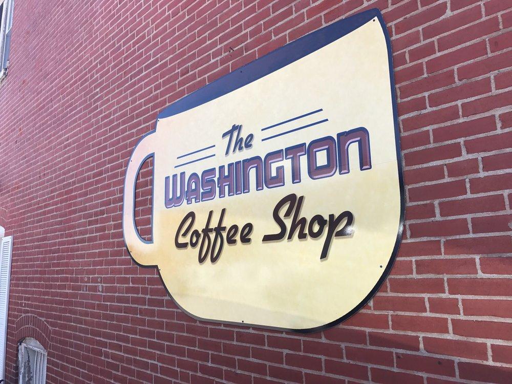 The Washington Coffee Shop: 2 E Fifth St, Washington, MO
