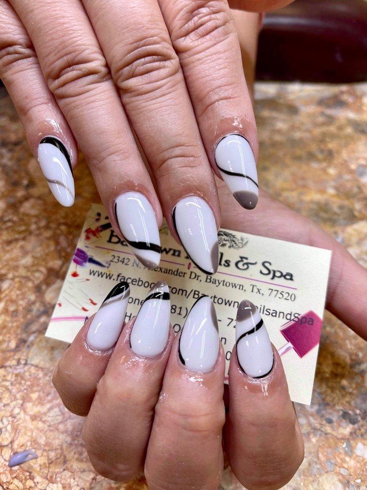 Baytown Nails & Spa: 2342 N Alexander Dr, Baytown, TX
