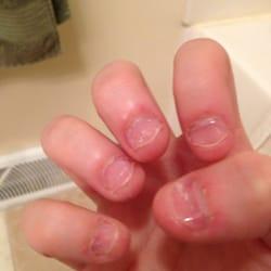 how to u take off fake nails