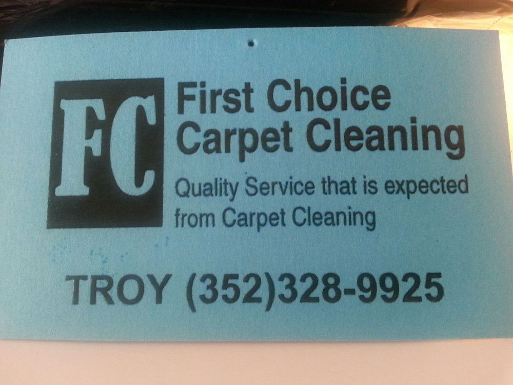 First Choice Carpet Cleaning: Jacksonville, FL