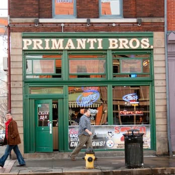 Primanti Brothers (/ p r ɪ ˈ m æ n t i /, locally / p ər-/) is a chain of sandwich shops in the eastern United States. Founded in , the chain is known for its signature sandwiches of grilled meat, melted cheese, an oil & vinegar-based coleslaw, tomato slices, and French fries between two thick slices of Italian bread.. During the James Beard Foundation Awards, Primanti's was named.