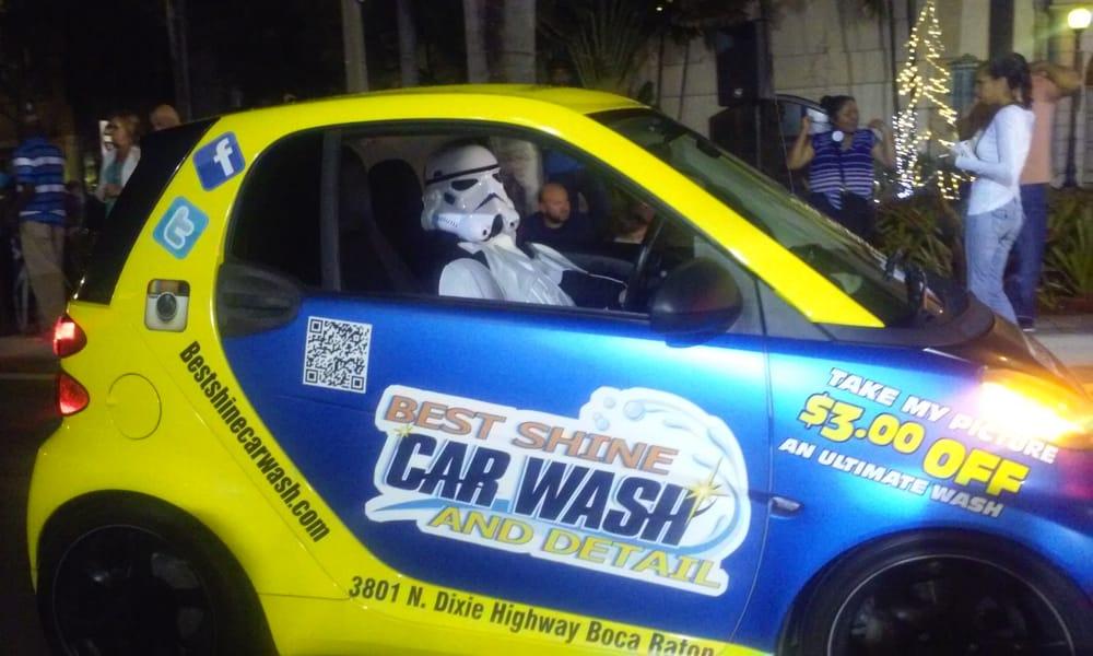 Best Shine Car Wash and Detail: 3801 N Dixie Hwy, Boca Raton, FL