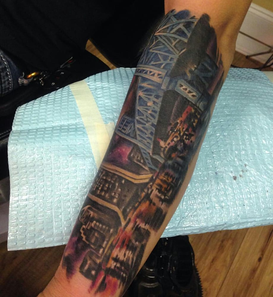 Full custom tattoo tattoo 3505 southside blvd for Full custom tattoo