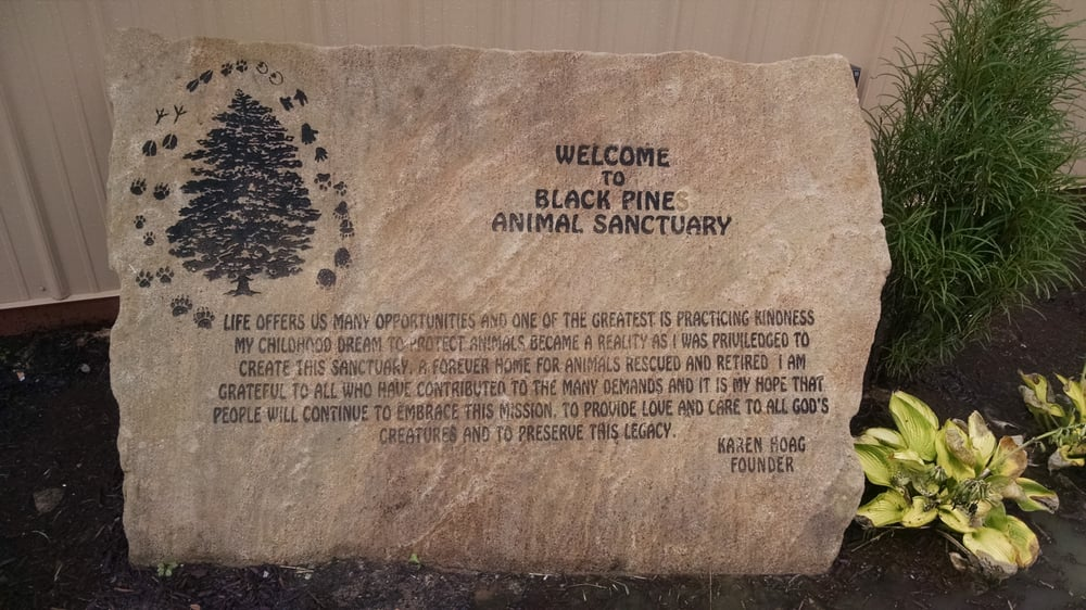 Black Pine Animal Sanctuary: 1426 W 300th N, Albion, IN