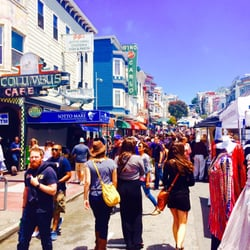 Photo Of North Beach Festival San Francisco Ca United States Green Street