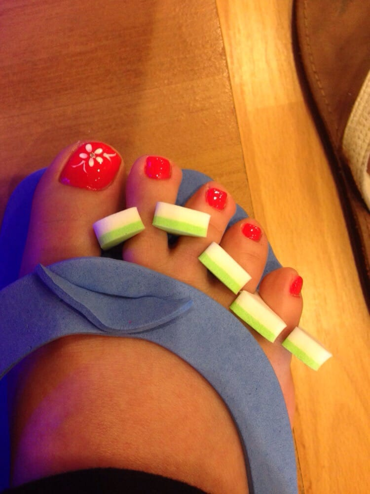 Rainbow Trout nails by Raymond! Thank you! - Yelp