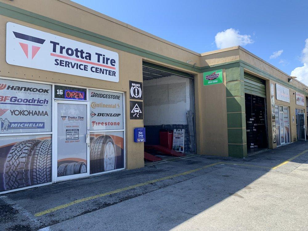 Trotta Tire of Miami: 19100 SW 106th Ave, Cutler Bay, FL