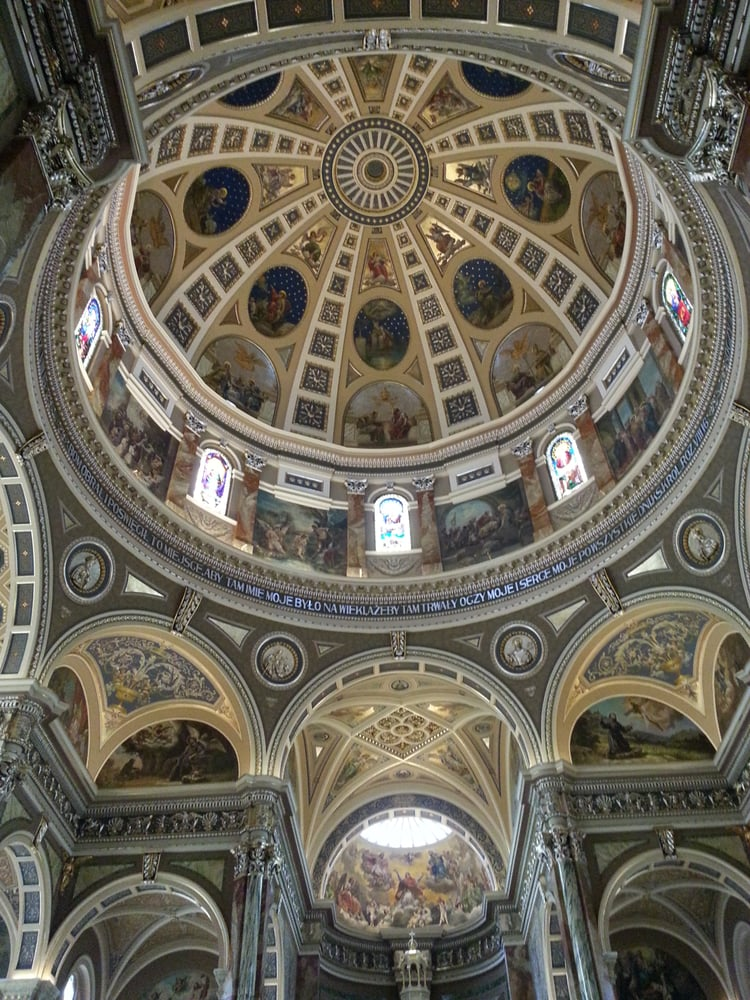 the basilica of st josaphat research Built in 1901, the basilica of st josaphat is a lavish architectural icon – with lavish maintenance expenses in order to meet its fundraising goals, the st josaphat basilica foundation needed to raise its profile within the community.
