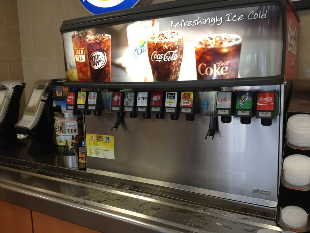 Burger King Drinks Canada