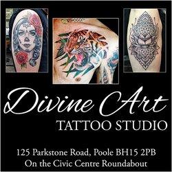 9463c5b329ffd Photo of Divine Art Tattoo Studio - Poole, Dorset, United Kingdom. Divine  Art