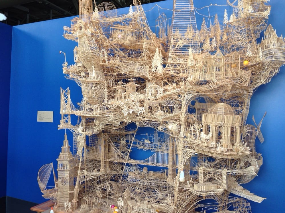 Photo of Exploratorium - San Francisco, CA, United States. Toothpick  Sculpture =O