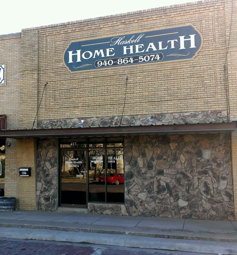 Young County Home Health Care-Haskell: 417 S 1st St, Haskell, TX