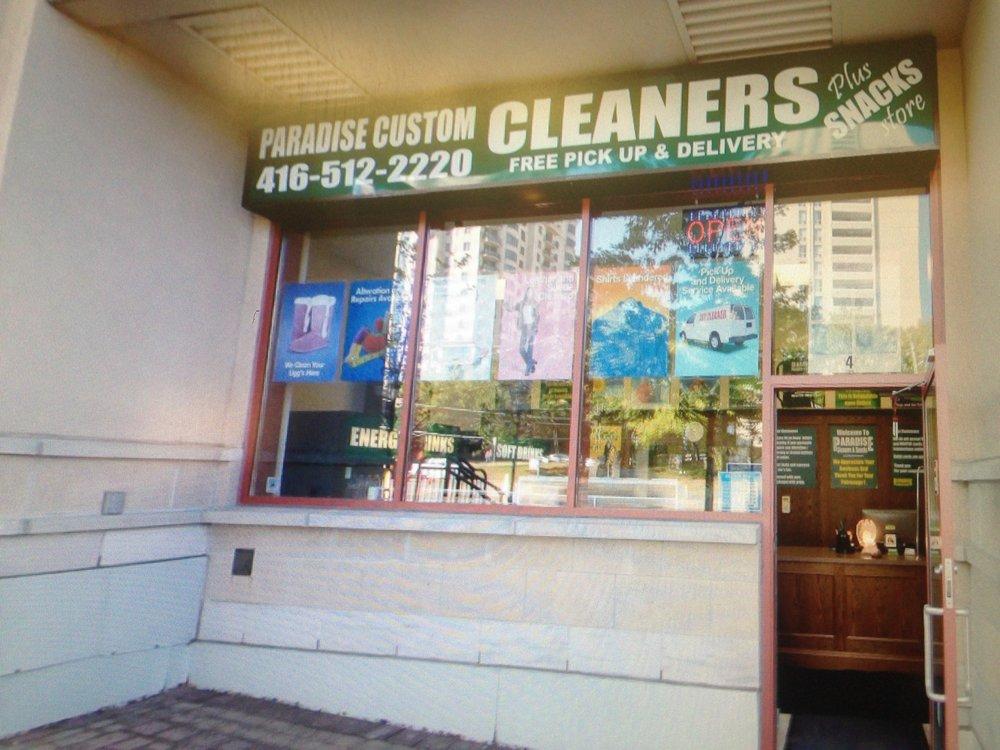 Paradise Custom Cleaners Plus Snacks