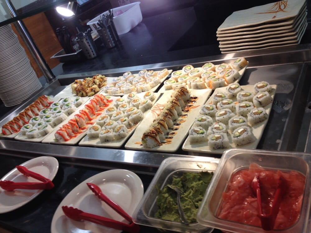 Asian buffet and grill