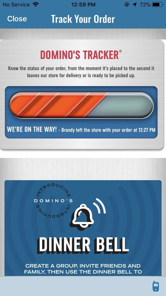 Domino's Pizza: 66 Valley St, Salem, WV