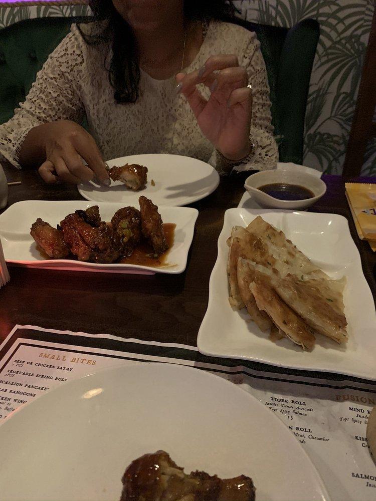 Food from Fuchsia Tiki Bar