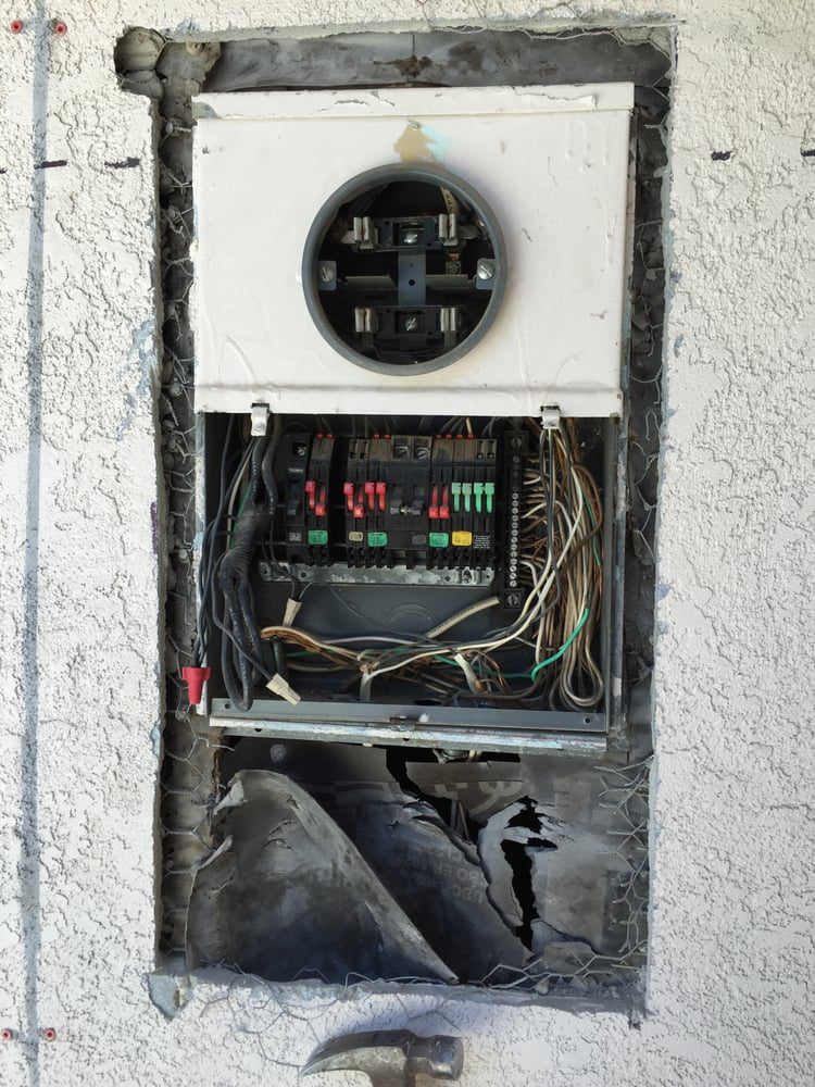 Main Electrical Panel Service Entrance Upgrade Project. - Yelp