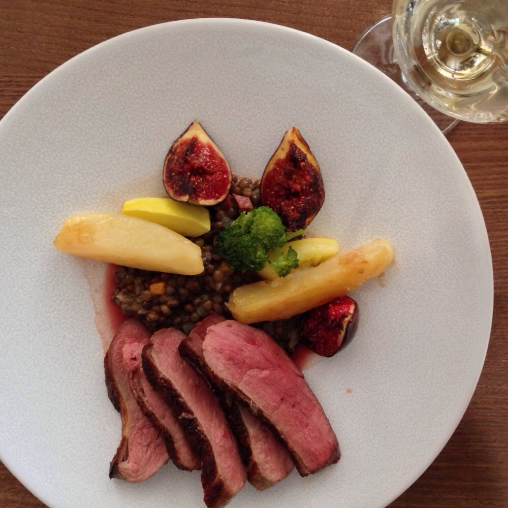 Duck with figs and lentils - Yelp