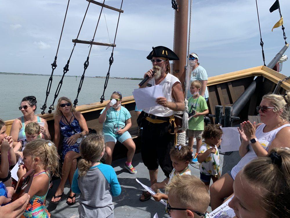 The Pirate Ship Royal Conquest: 140 Boardwalk Pl W, Madeira Beach, FL