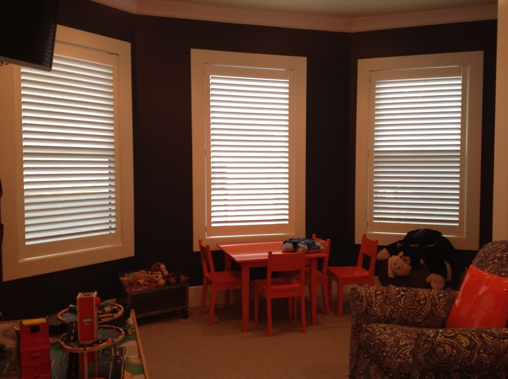 Invistilt Shutters Are The Best Child Safe Option For This