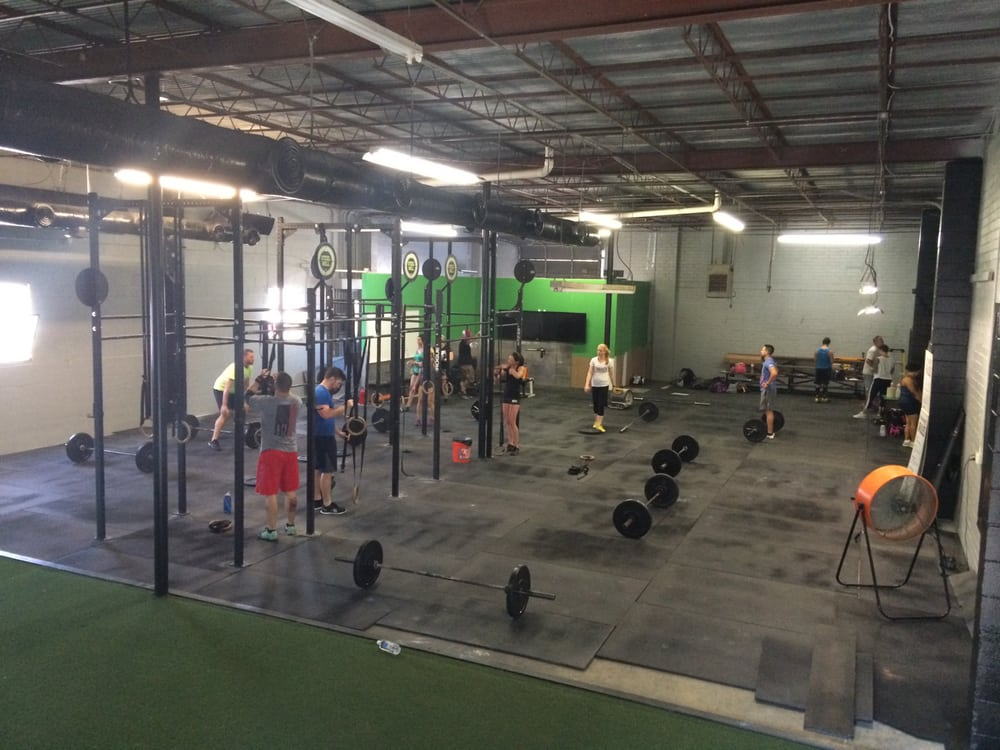 Crossfit Gym Photography Photos for Steel Mill ...