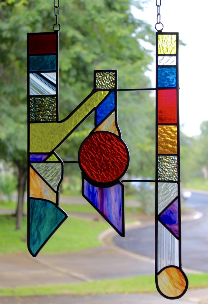 Stained Glass Hanging Window Panel Lyft Purchased For A Christmas