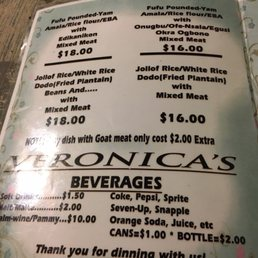 Photos For Veronica S Kitchen Menu Yelp